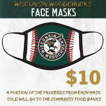 Woodchucks Face Mask